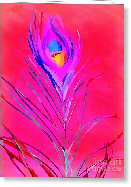 Vibrant Life Greeting Card