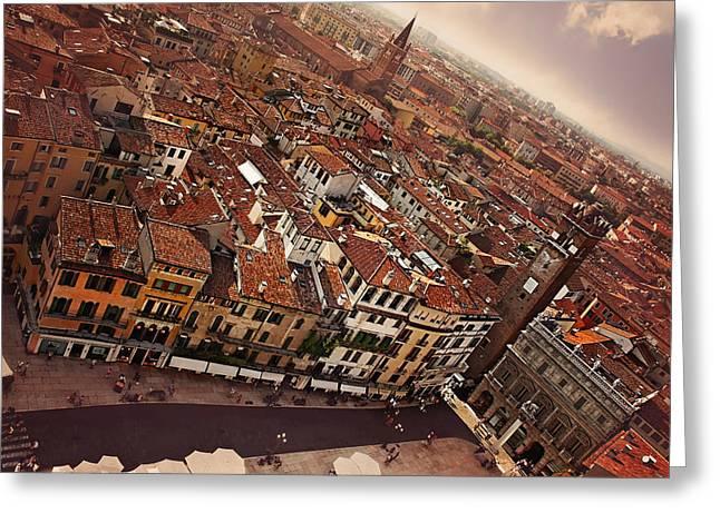 Vibrant Verona Greeting Card