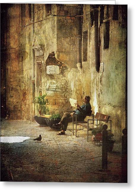Vicolo Chiuso   Closed Alley Greeting Card
