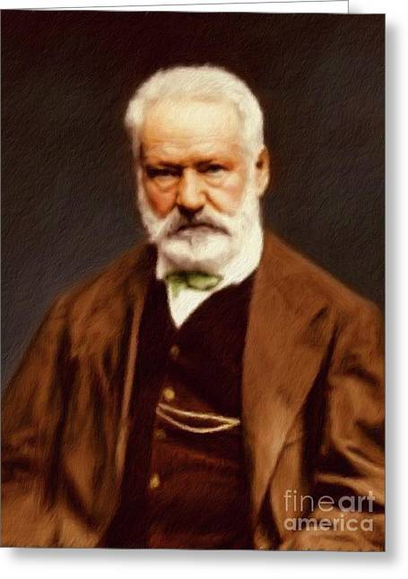 Victor Hugo, Literary Legend Greeting Card