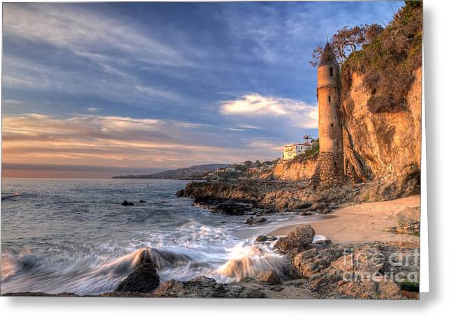 Victoria Beach Greeting Card by Eddie Yerkish