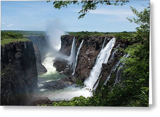 Victoria Falls Gorge Greeting Card