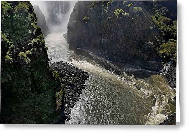 Victoria Falls Greeting Card