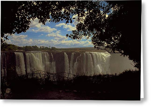 Victoria Falls, Zimbabwe Greeting Card