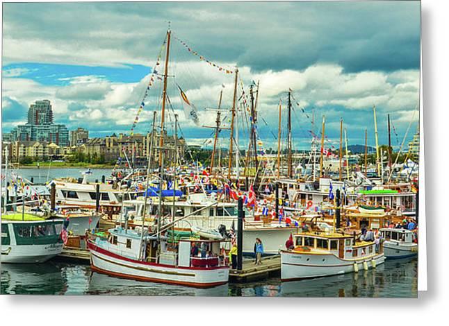 Victoria Harbor 1 Greeting Card