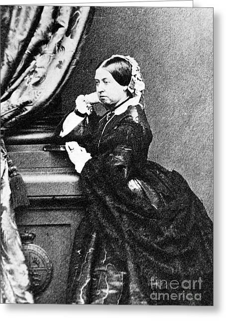Victoria, Queen Of England, 1862 Greeting Card