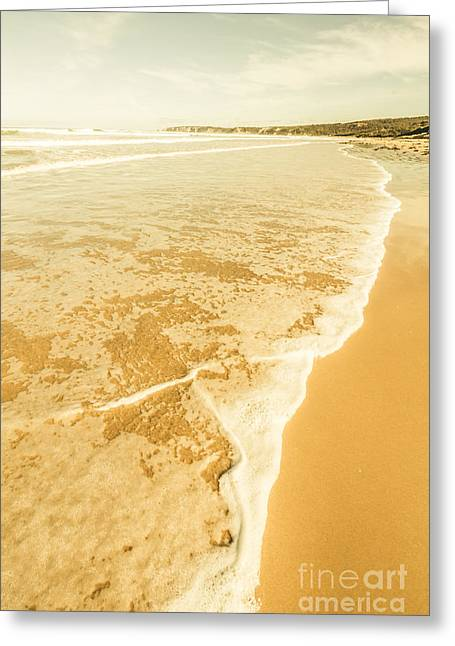 Victoria Sea Landscapes Greeting Card