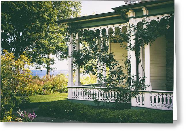 Victorian By The Sea Greeting Card by Jessica Jenney