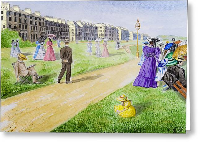 Victorian Filey Greeting Card