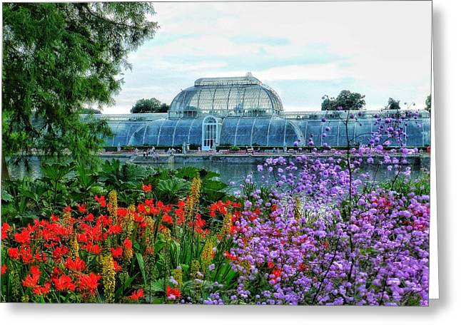 Victorian Kew Gardens Today  Greeting Card by Connie Handscomb
