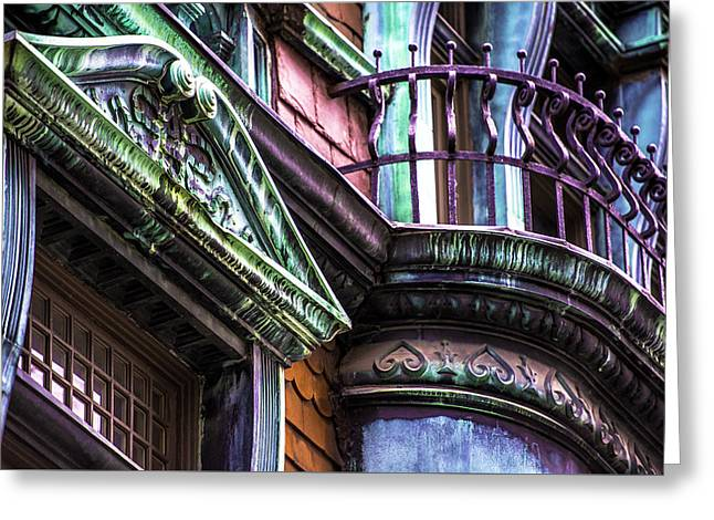 Victorian On Rush V2 Greeting Card by Raymond Kunst