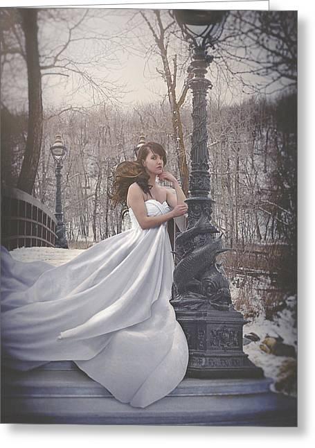 Victorian Twilight Greeting Card
