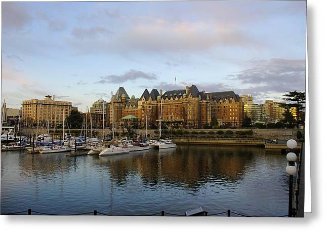 Victoria's Inner Harbour Greeting Card