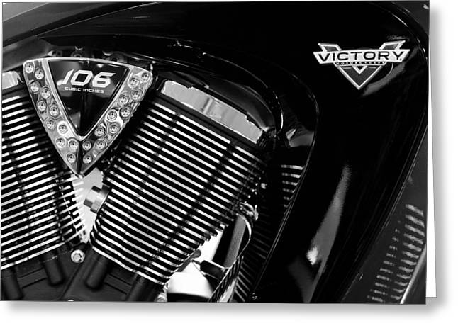 Victory Bw V1 Greeting Card