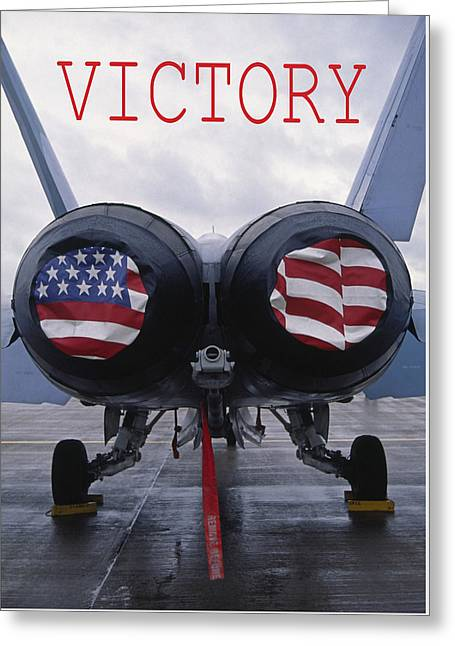 Victory Greeting Card