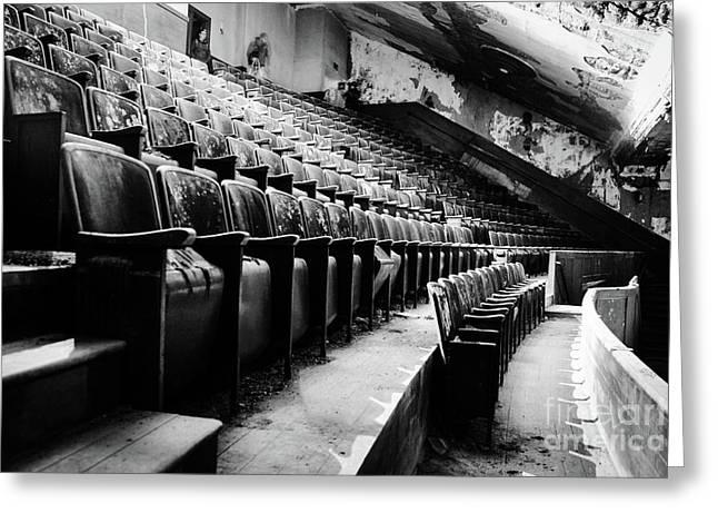 Victory Theatre, 1920-1979 Greeting Card by JMerrickMedia