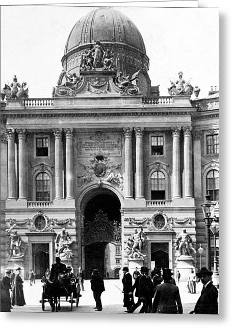 Vienna Austria - Imperial Palace - C 1902 Greeting Card by International  Images