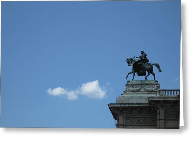 Vienna Sky Greeting Card