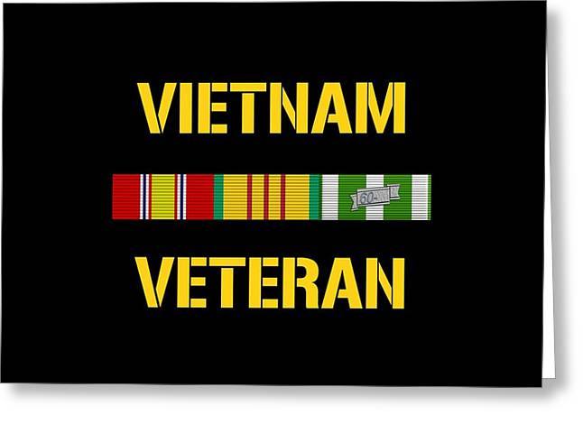 Vietnam Veteran Ribbon Bar Greeting Card