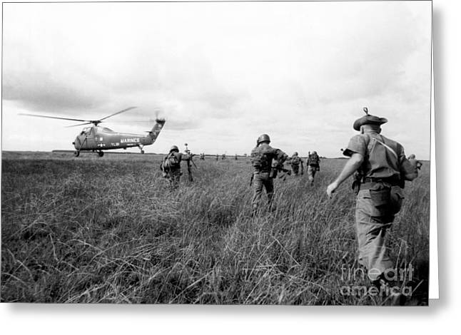 Vietnam War Greeting Card by American School