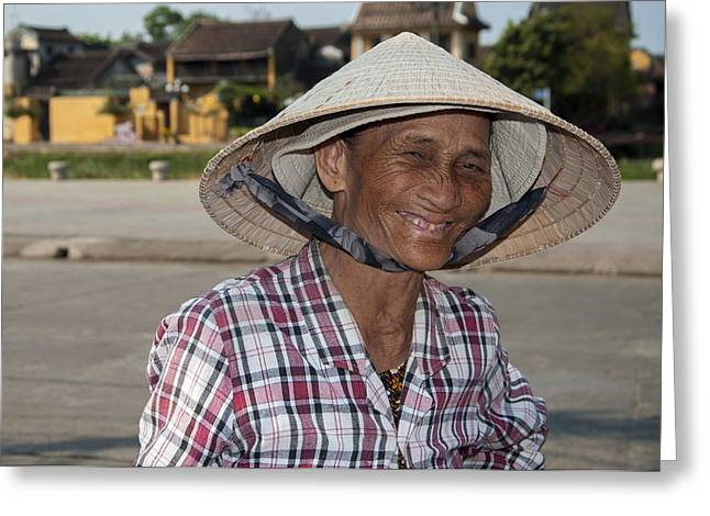 Vietnamese Street Vendor Greeting Card