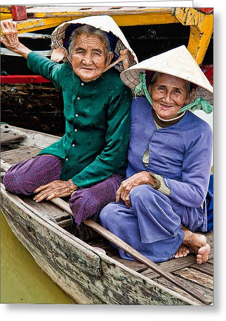 Vietnamese Women Greeting Card