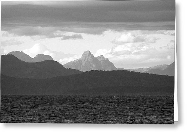 View Across The Strait 2 Photograph Greeting Card