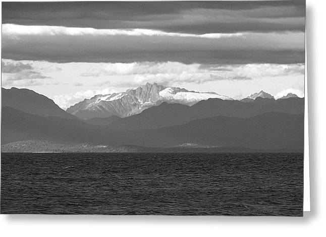 View Across The Strait Photograph Greeting Card