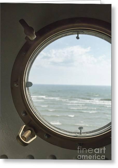 View At Sea II Greeting Card