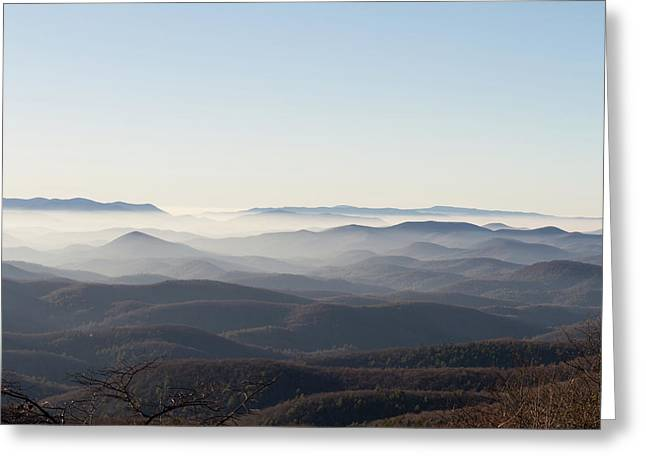View From Blood Mountain Greeting Card