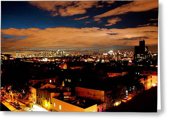 View From Brooklyn  Greeting Card by Brian  Vitagliano