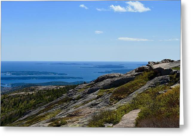 View From Cadillac Mountain Greeting Card