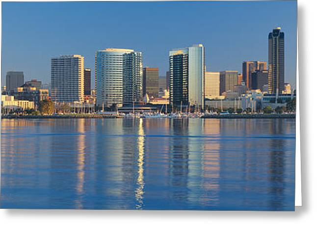View From Coronado, San Diego Greeting Card
