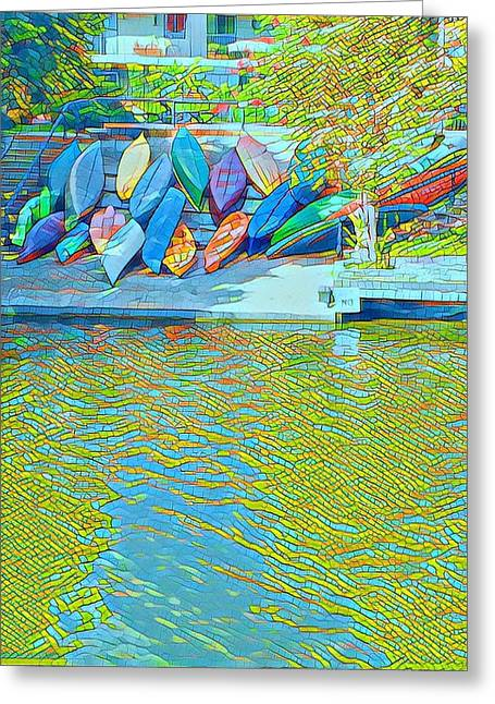 View From East Side Boardwalk Greeting Card