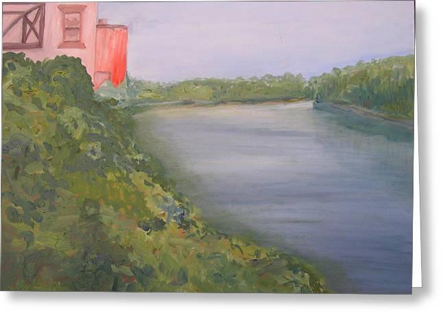 View From Edmund Pettus Bridge Greeting Card by Patricia Caldwell