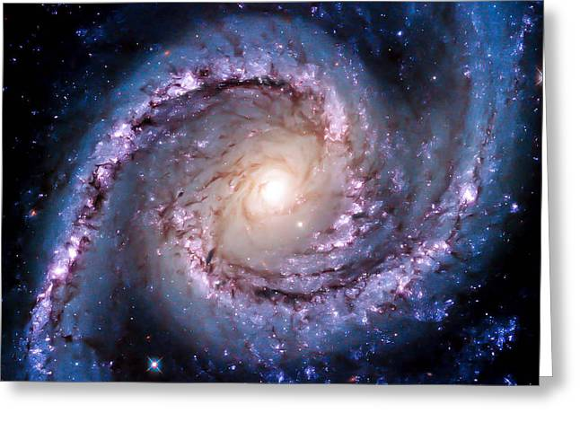 View From Hubble Greeting Card