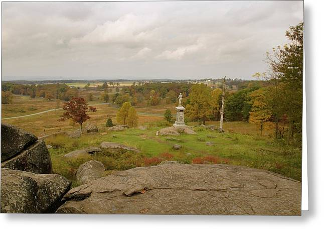 View From Little Round Top 2 Greeting Card