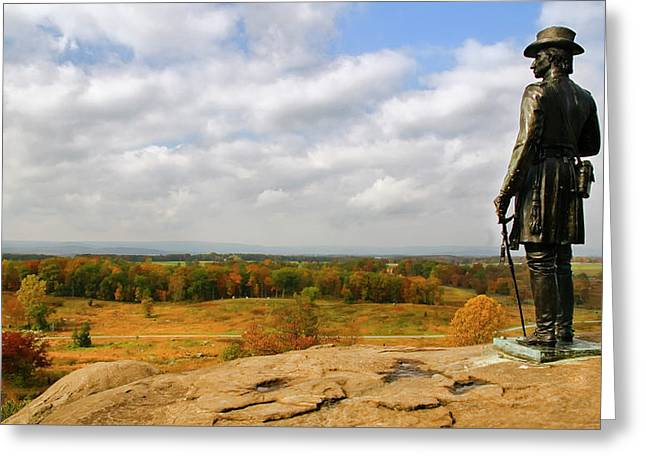 View From Little Round Top Greeting Card