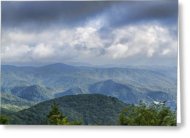 View From Roan Mountain Greeting Card
