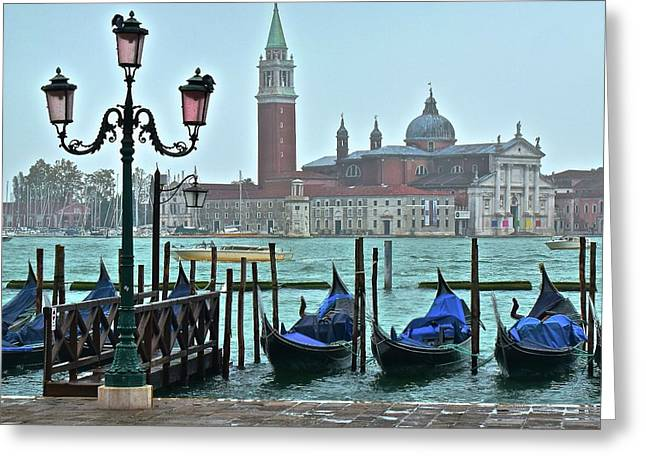 View From San Marco Square 2015 Greeting Card