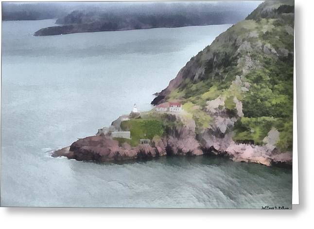 View From Signal Hill Greeting Card by Jeff Kolker