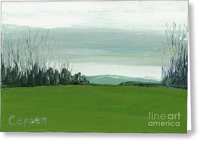 View From Skyline Drive Greeting Card by Robert Coppen