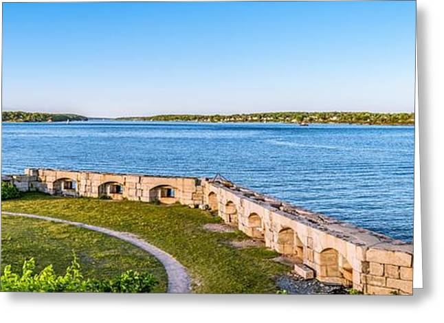 View From Spring Point Greeting Card by Tim Sullivan