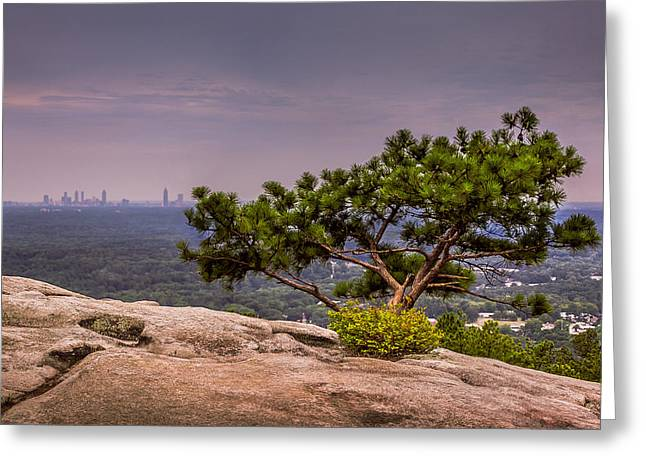 View From Stone Mountain Greeting Card