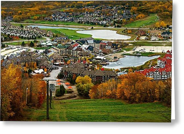 View From The Mountain Greeting Card by Jeff S PhotoArt