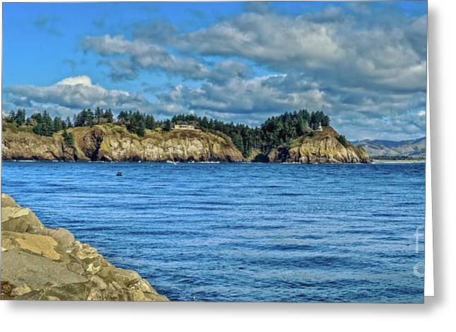 View From The North Jetty  Greeting Card