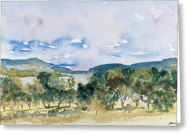 View Of D'entrecasteaux Channel From Birchs Bay, Tasmania Greeting Card