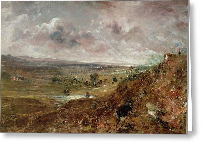 View Of Hampstead Heath Greeting Card by John Constable