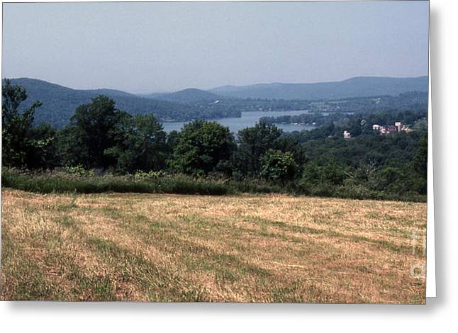 View Of Lake Waramaug Greeting Card