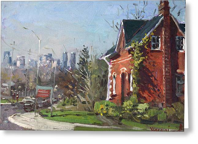 View Of Mississauga City Greeting Card by Ylli Haruni